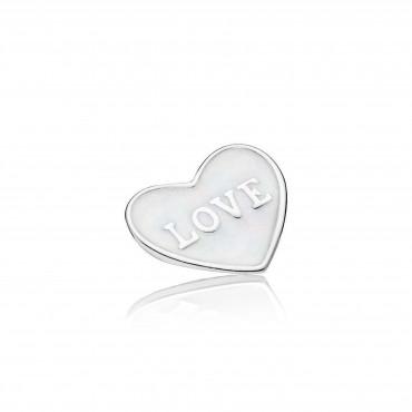 Петит для медальона Маленькое сердце любви