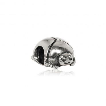 Подвеска-шарм Скарабей, серебро 925