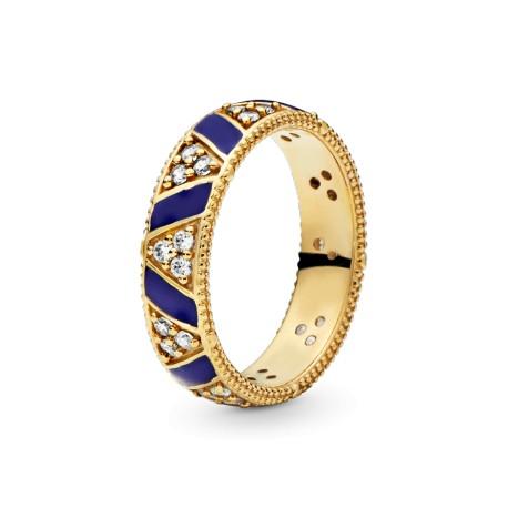 Широкое кольцо Этно мотив