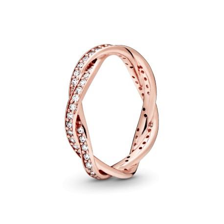 Кольцо PANDORA Rose Переплетенные судьбы