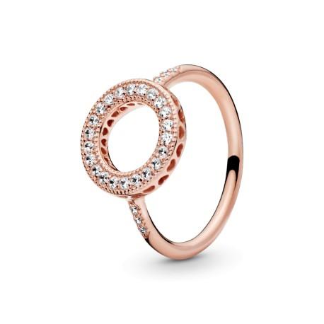 Кольцо PANDORA Rose Сердечки