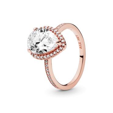 Кольцо Rose Сверкающая слеза