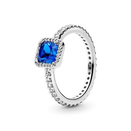 Кольцо Синяя вечная элегантность