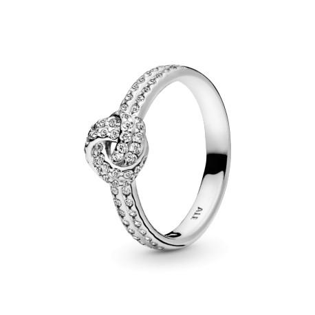 Перстень Сверкающий узелок любви