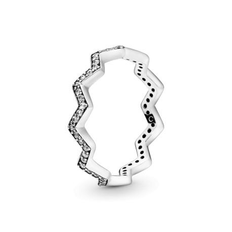 Кольцо Мерцающий зигзаг