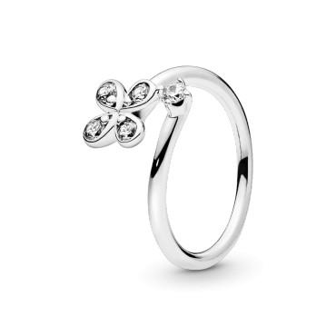 Кольцо ассиметричное Цветок