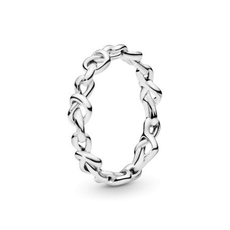 Кольцо Переплетенное сердце