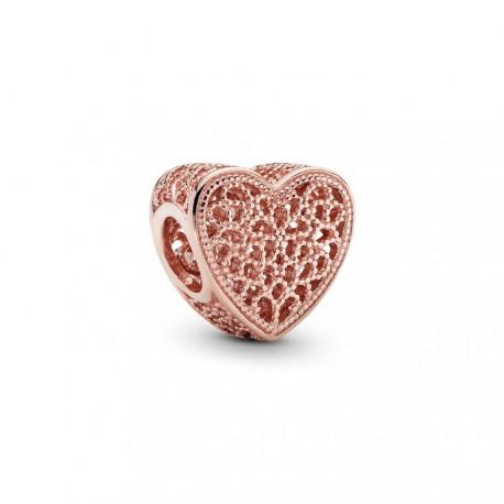 Филигранный шарм PANDORA Rose Романтика в сердце