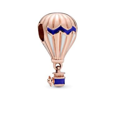 Шарм Rose Сине-белый воздушный шар