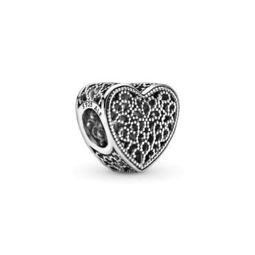 Филигранный шарм Романтическое сердце