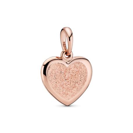 Подвеска Rose Матовое сияние сердца