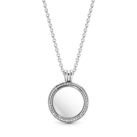 Блестящий медальон Pandora